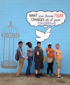 SSP 2013 Team Greater Grand Crossing: Anti-Violence Mural