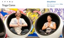 YogaCare co-founders Greg van Hyfte and Julia Pederson